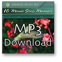 Ten-Minute Stress Manager (MP3 Download)