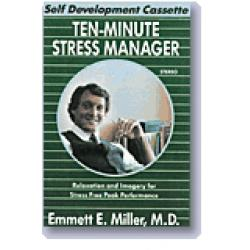 Ten-Minute Stress Manager (Cassette)