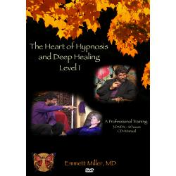 Heart of Hypnosis and Deep Healing DVD Training with Dr. Miller Image